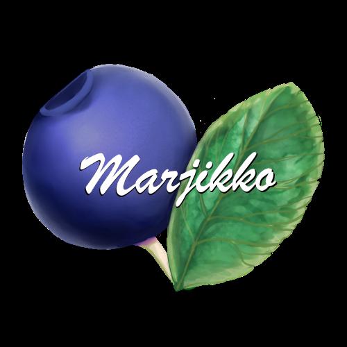 Marjikko logo isopixel